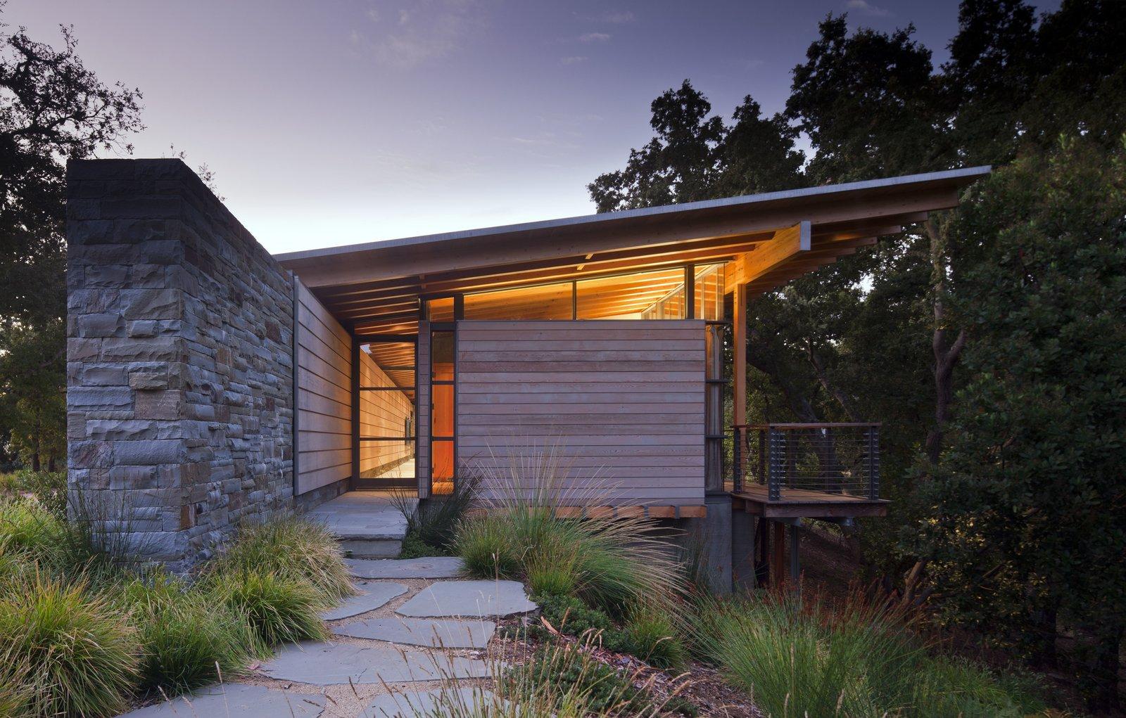 Tagged: Exterior, House, Wood Siding Material, Stone Siding Material, and Glass Siding Material.  Halls Ridge Knoll by Bohlin Cywinski Jackson