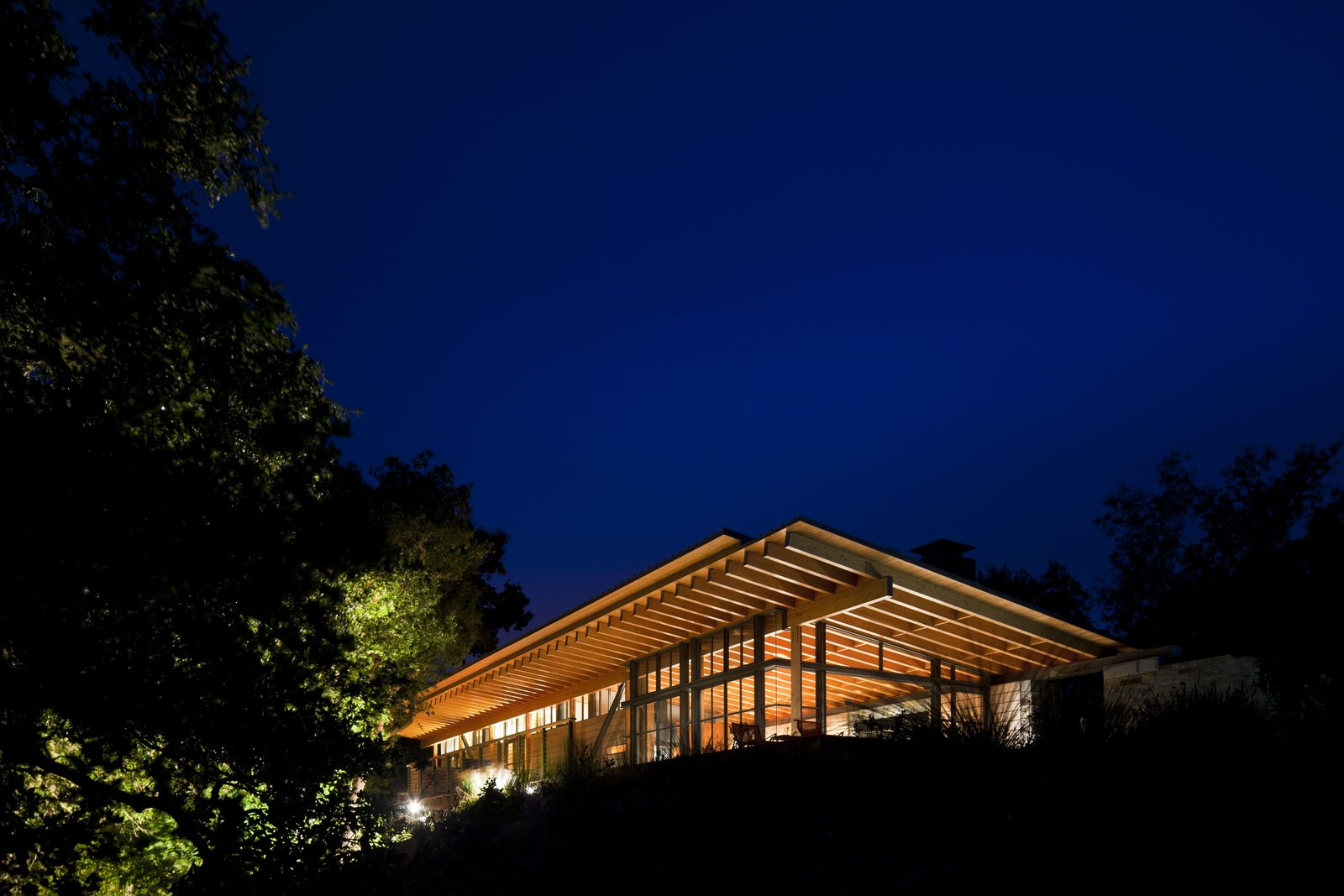 Tagged: Exterior, House, Wood Siding Material, and Glass Siding Material.  Halls Ridge Knoll by Bohlin Cywinski Jackson