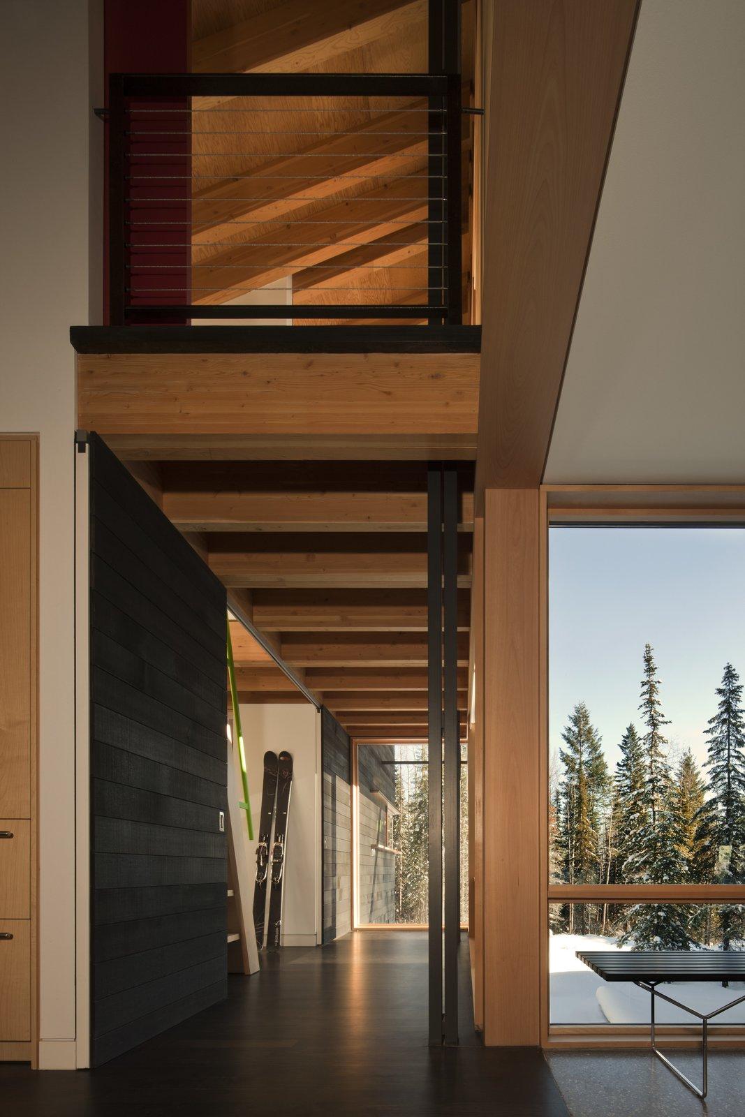 Tagged: Hallway.  Kicking Horse Residence by Bohlin Cywinski Jackson