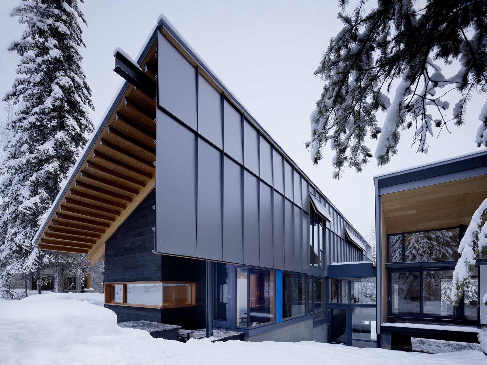 Tagged: Outdoor.  Kicking Horse Residence by Bohlin Cywinski Jackson