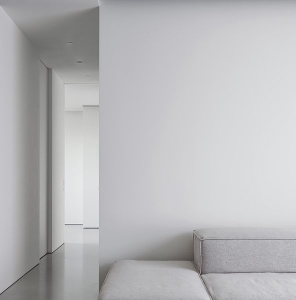 Eyes only focus on the depth of space and variation of light.   Photo 3 of The Element Apartment modern home