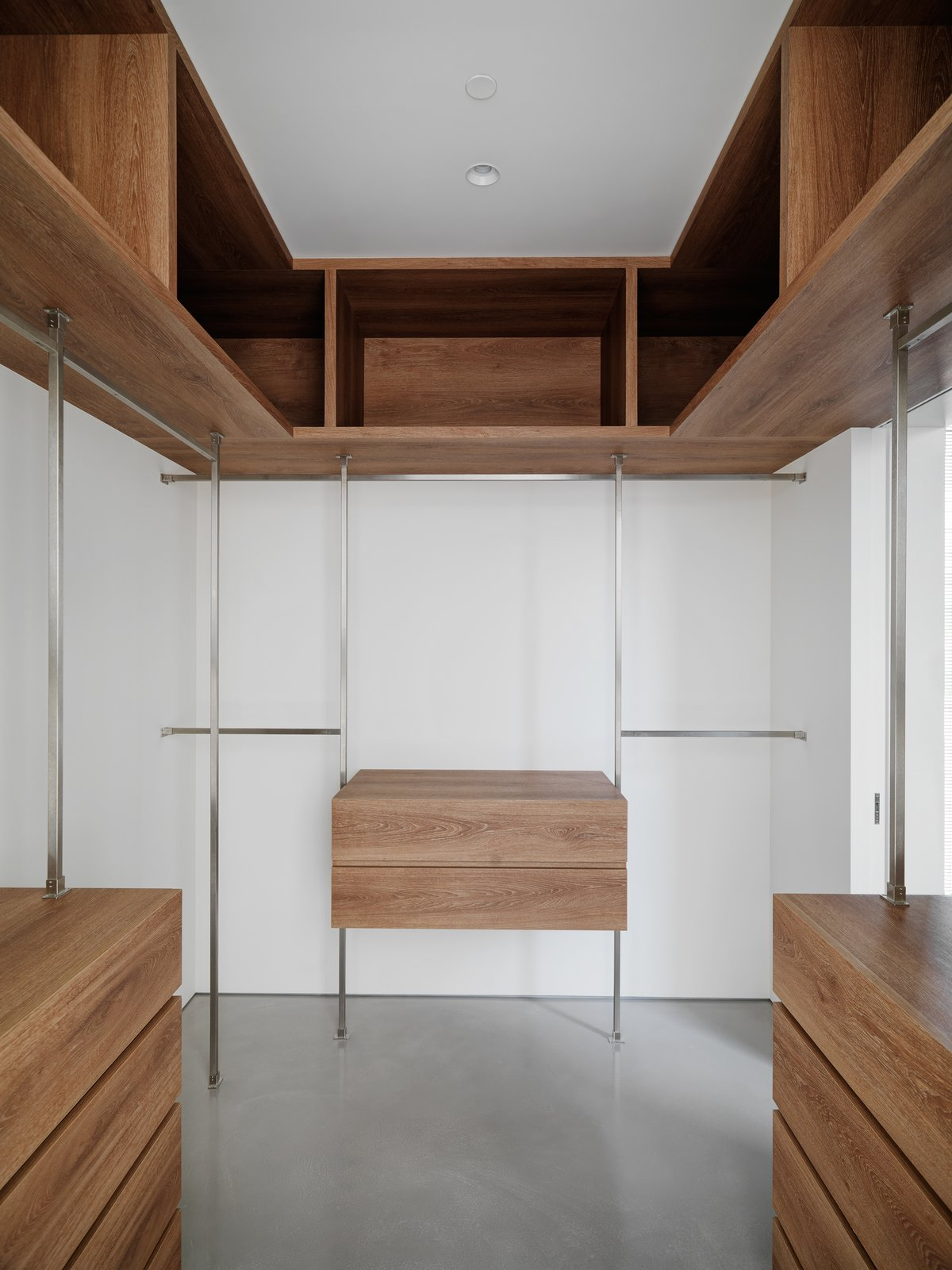 Walk-In Closet.  The Element Apartment by Marty Chou Architecture