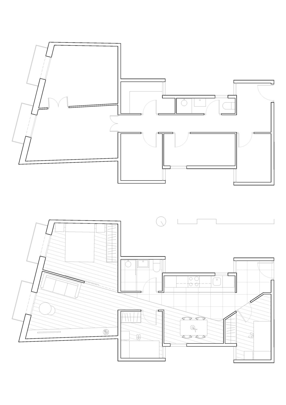 Floor plan  Ciutadella by Allaround Lab