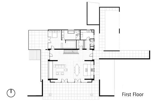First Floor Plan Photo 5 of Sundial House modern home