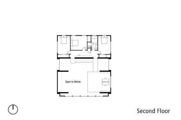 Second Floor Plan Photo 6 of Sundial House modern home