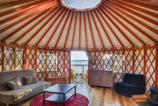 9 Yurt Vacation Rentals For the Modern Alternative Camper - Photo 6 of 9 -