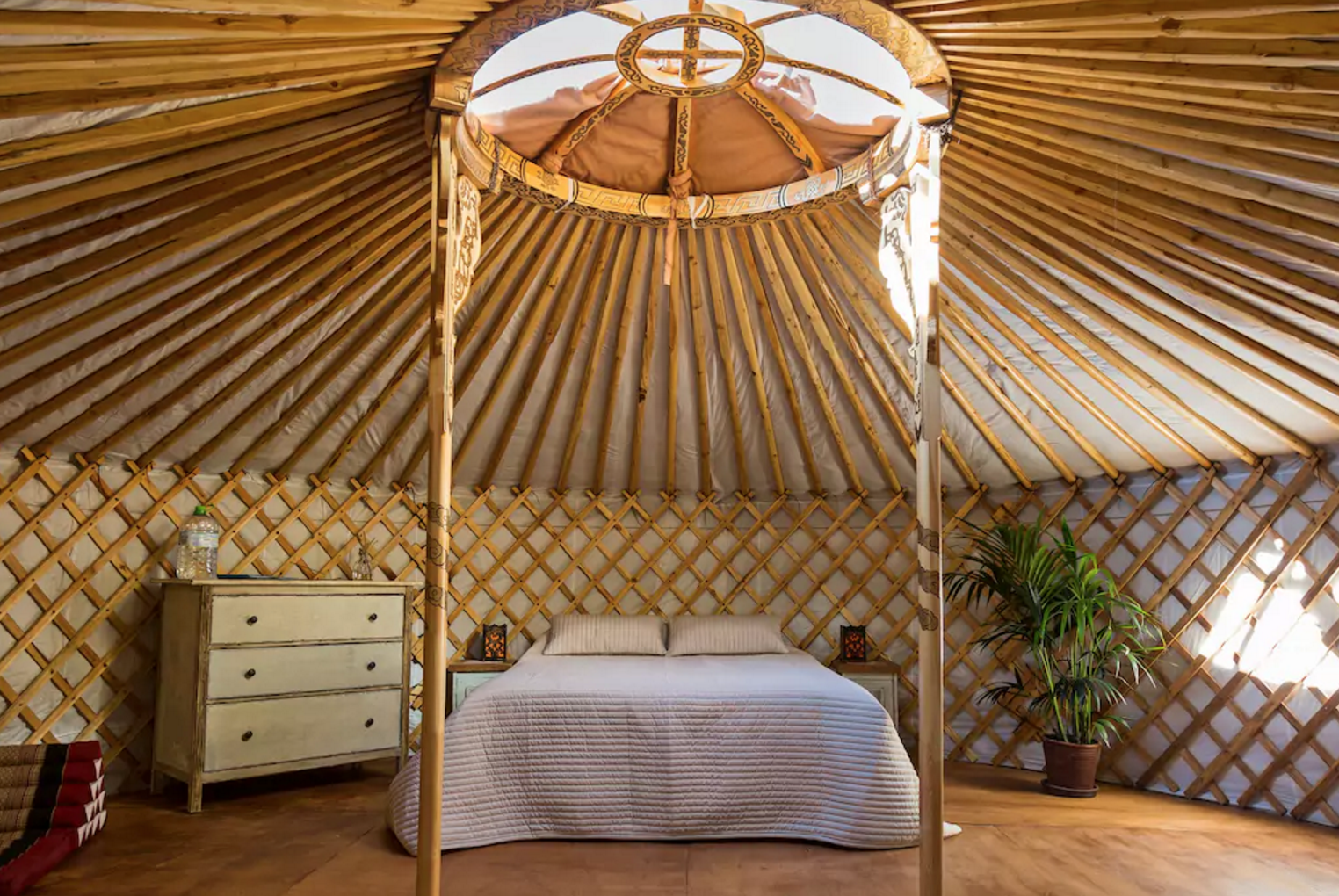 Photo 10 of 10 in 9 Yurt Vacation Rentals For the Modern Alternative Camper