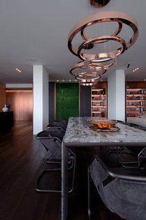 A Family's Kiev Apartment Is Filled With Copper, Marble, and a Sophisticated Palette - Photo 7 of 12 -