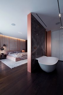 A Family's Kiev Apartment Is Filled With Copper, Marble, and a Sophisticated Palette - Photo 8 of 12 -