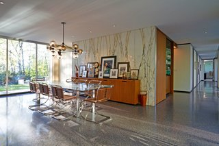 A Renovated, Midcentury Glass-and-Steel House in New York Asks $2.45M - Photo 4 of 9 -