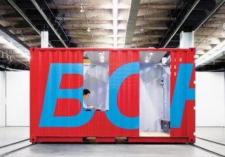 Explore the World of Shipping Container Design With a New Architectural Book - Photo 4 of 9 - Shown here is part of the 15,000-square-foot Bohen Art Foundation in New York City.
