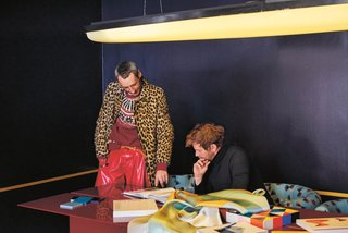 Meet 40 of the World's Most Creative Entrepreneurs With Kinfolk's New Book - Photo 3 of 9 - Dimore Studio design team, Britt Moran and Emiliano Salci.