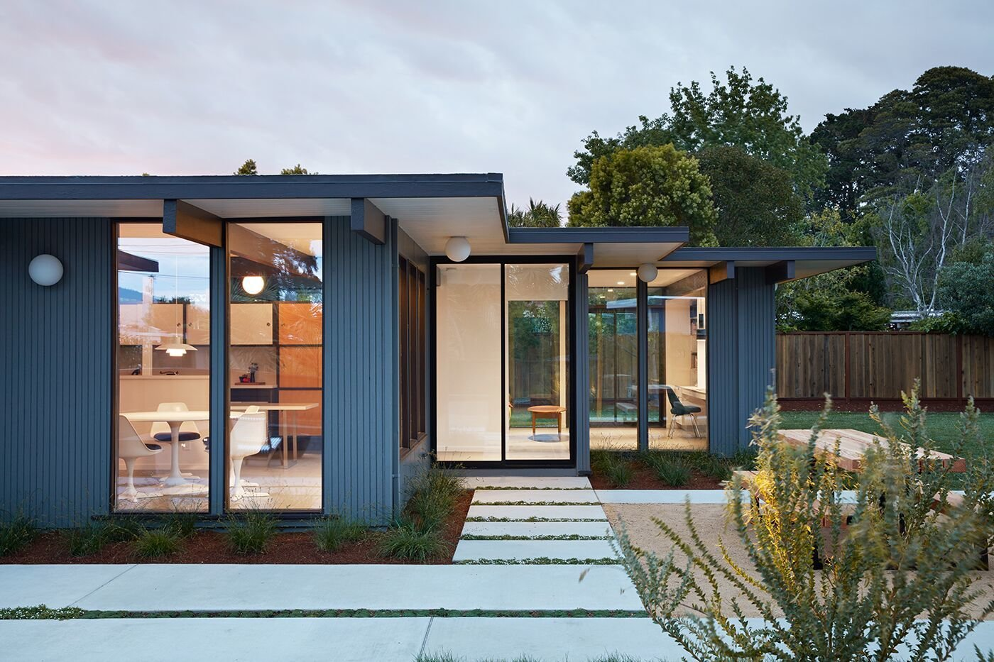 A Midcentury Eichler In San Mateo Is Turned Into A