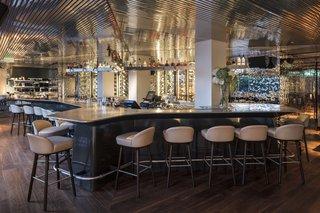 A New Hotel That Celebrates Ibiza's Maritime History and Love For Parties - Photo 9 of 11 - Interior of Izakaya at Sir Joan
