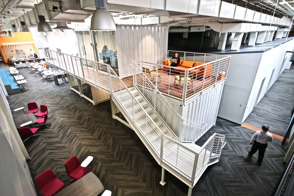 Shipping Container Office - Workbox Photo 14 of Creative Workbox modern home