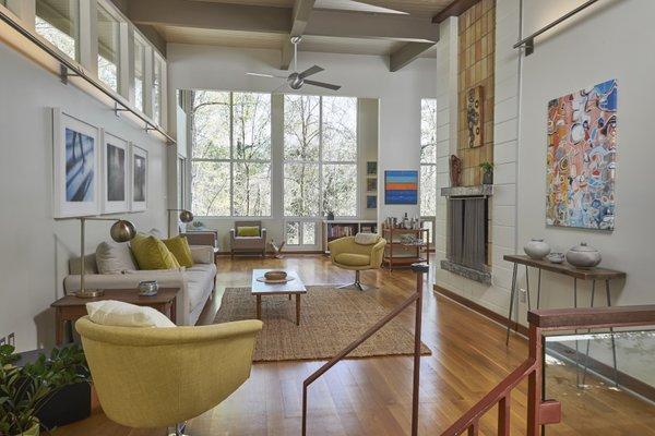 1020 Highland Woods Photo 6 of MODERNIST HIDEAWAY modern home