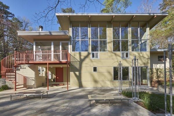 1020 Highland Woods Photo  of MODERNIST HIDEAWAY modern home
