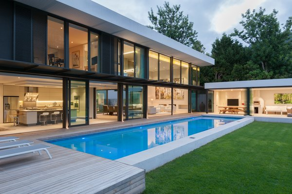 Pool flow Photo 5 of Lords House modern home