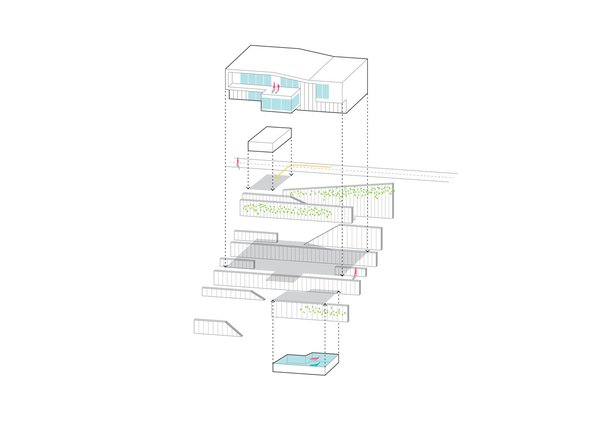 Concept sketch Photo 9 of House V2 modern home