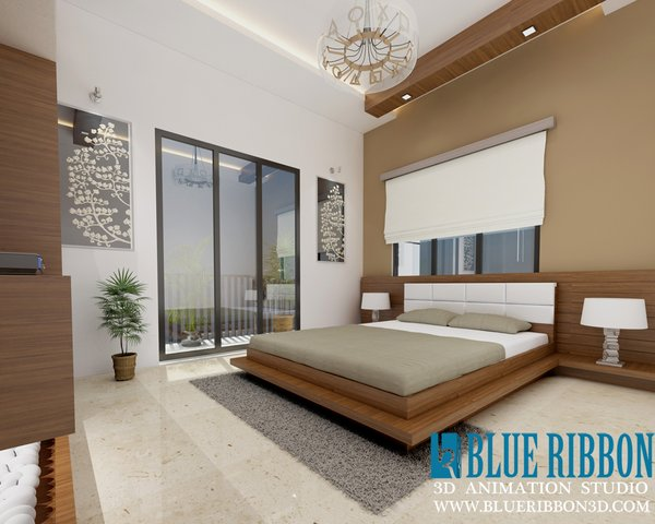 Photo 10 of 3d Interior rendering modern home
