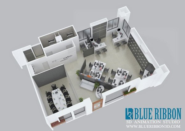 Photo 4 of 3d Floor Plan modern home