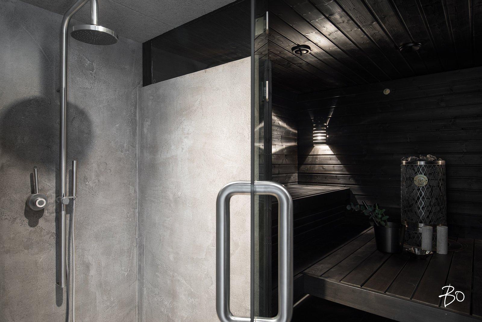 Shower / sauna  villAma by Kari Leino