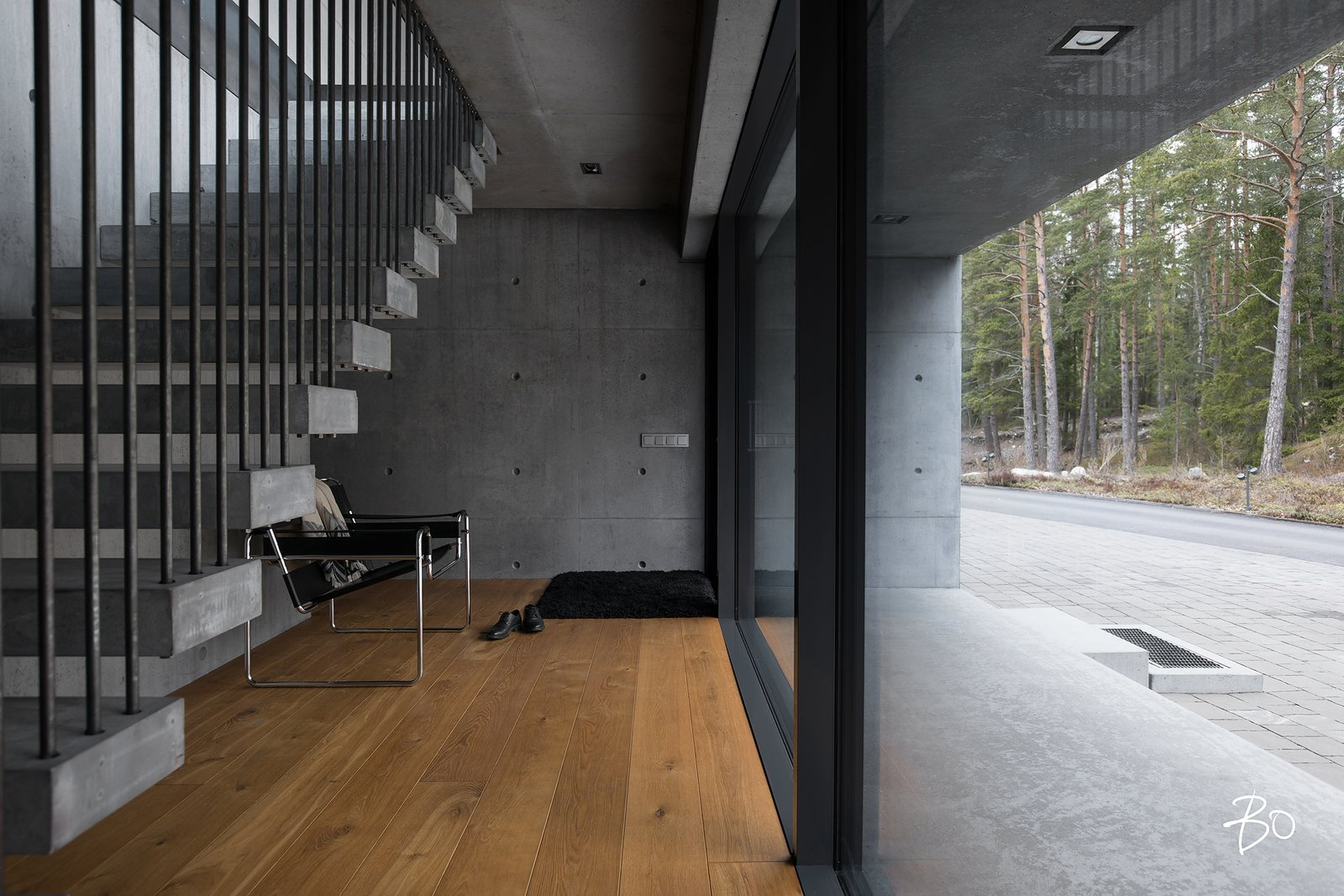 Ground floor entrance villAma by Kari Leino