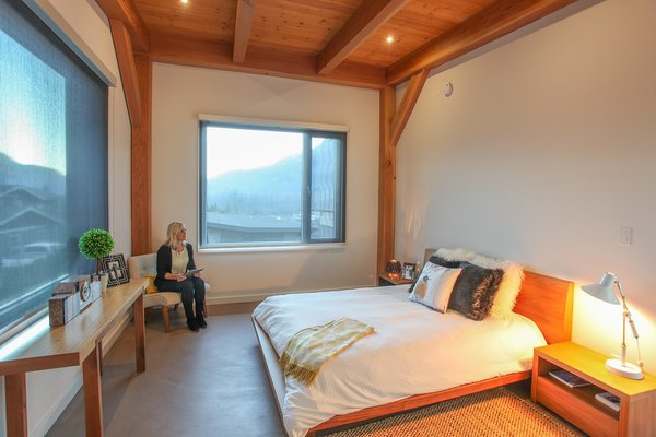 Queen of her Bed Photo 4 of Sea to Sky's 1st ENERGY STAR New Home modern home