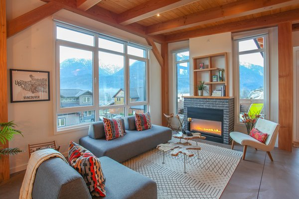 A Small but Great Room Photo 3 of Sea to Sky's 1st ENERGY STAR New Home modern home