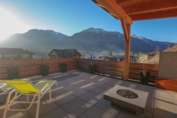 Early Spring Views of Snowy Peaks Photo 8 of Sea to Sky's 1st ENERGY STAR New Home modern home