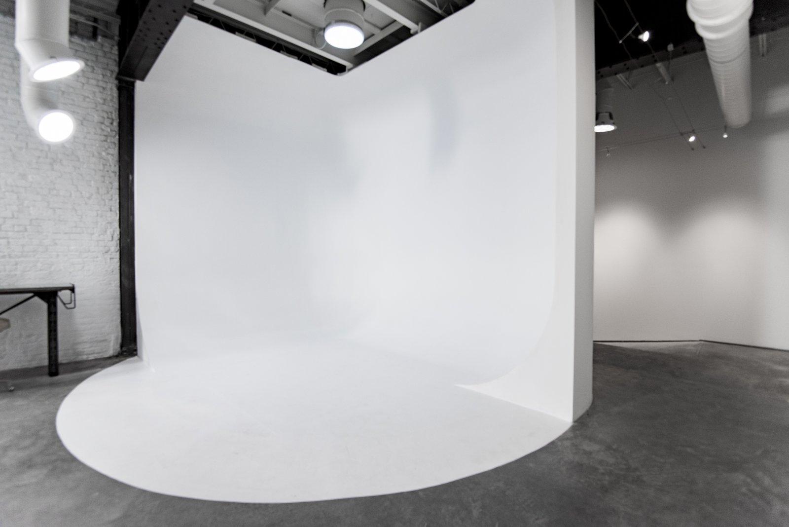 Studio cyclorama wall