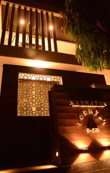 Second Entrance door, Exterior Photo 8 of BUNGALOW - NAVRATAN modern home