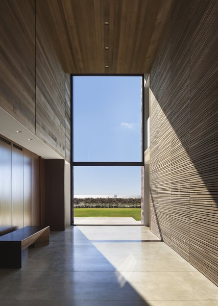 Modern home with doors and interior. Photo 10 of Sagaponack, NY