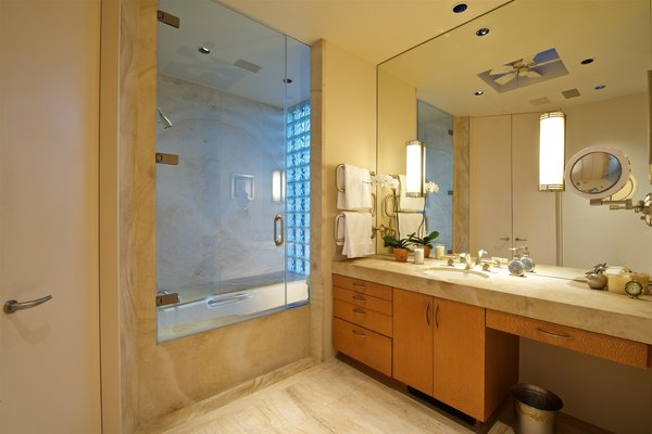 Master Suite Bathroom Photo 18 of La Jolla Ocean Front Contemporary Home by Henry Hester! modern home