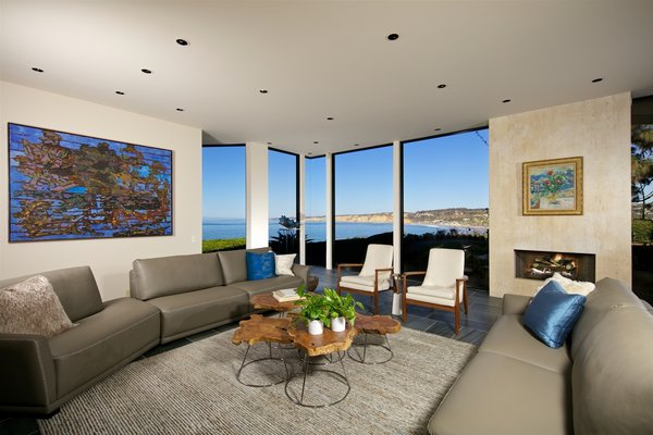 Photo 9 of La Jolla Ocean Front Contemporary Home by Henry Hester! modern home