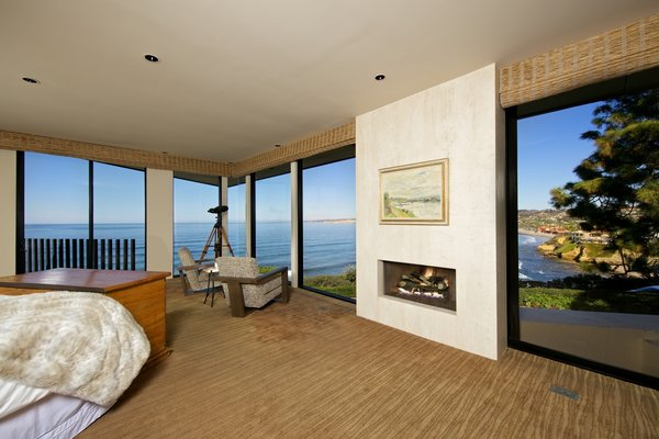 Master suite with Ocean View Photo 16 of La Jolla Ocean Front Contemporary Home by Henry Hester! modern home