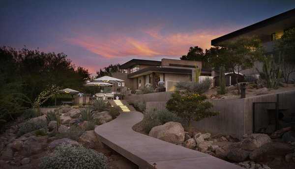 Photo 4 of Stone Canyon modern home