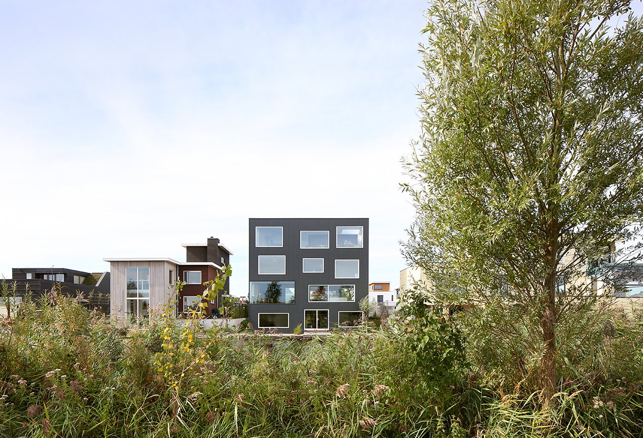 Tagged: Exterior, House, and Flat RoofLine.  House With 11 Views by Marc Koehler