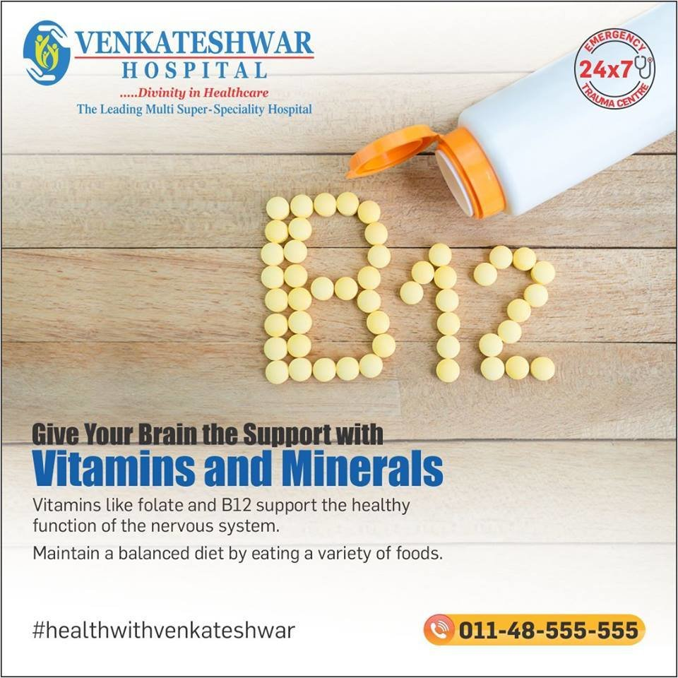 Give Your Brain the Support with Vitamins & Minerals   Healthy Life