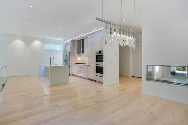 Glass panelling creates light and space within the room.  Photo 3 of 908 Kings Court modern home
