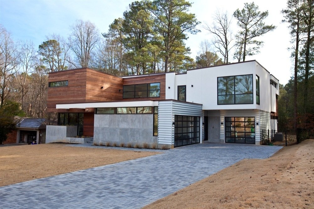 Atlanta Design Economy Credits  Architecture: Plexus r+d General Contractor: Apex Homes, Milani Homes Interior design and millwork: Amir Nejd.  Nejad Residence by Atlanta Design Festival