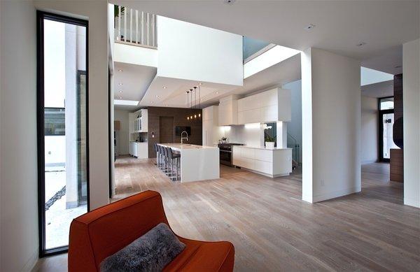 Atlanta Design Economy Credits  Architecture: Plexus r+d General Contractor: Apex Homes, Milani Homes Interior design and millwork: Amir Nejd. Photo 2 of Nejad Residence modern home
