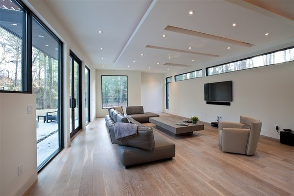 Atlanta Design Economy Credits  Architecture: Plexus r+d General Contractor: Apex Homes, Milani Homes Interior design and millwork: Amir Nejd. Photo 4 of Nejad Residence modern home