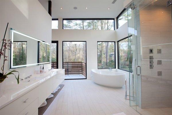 Atlanta Design Economy Credits  Architecture: Plexus r+d General Contractor: Apex Homes, Milani Homes Interior design and millwork: Amir Nejd. Photo 5 of Nejad Residence modern home
