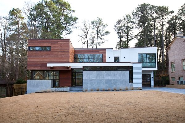 Atlanta Design Economy Credits  Architecture: Plexus r+d General Contractor: Apex Homes, Milani Homes Interior design and millwork: Amir Nejd. Photo 6 of Nejad Residence modern home