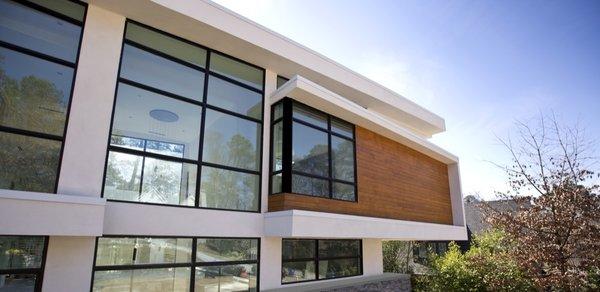Atlanta Design Economy Credits  Architecture and Design: Plexus r+d  Photo  of Berkshire modern home