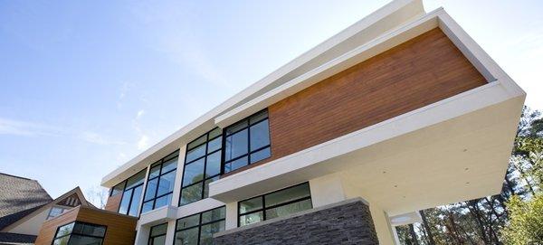 Atlanta Design Economy Credits  Architecture and Design: Plexus r+d  Photo 2 of Berkshire modern home