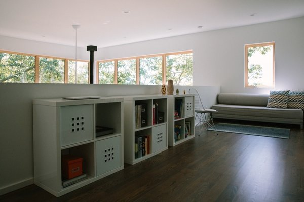 Asheville Design Economy Credits  Architecture & Interior: SPARC Design, PC General Contractor: Rob Motley Construction Photo 3 of 515 Windswept modern home