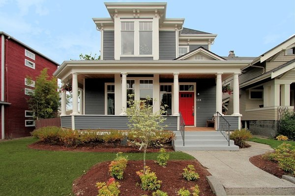This classic Seattle victorian was falling apart and in dire need of a refresh. There were beautiful existing details that needed to be repaired or replaced in order make the house livable. Photo 3 of Madrona Victorian modern home