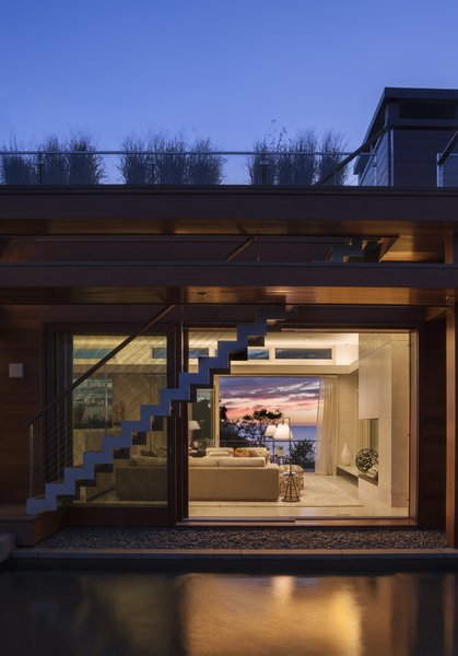 The open layout maximizes ocean views. Photo 11 of The Cape modern home